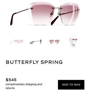 CHANEL SUNGLASSES- WORN ONCE- perf condish
